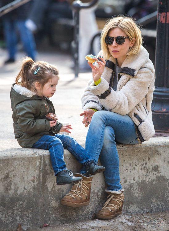 Sienna Miller Daughter Marlowe West Village