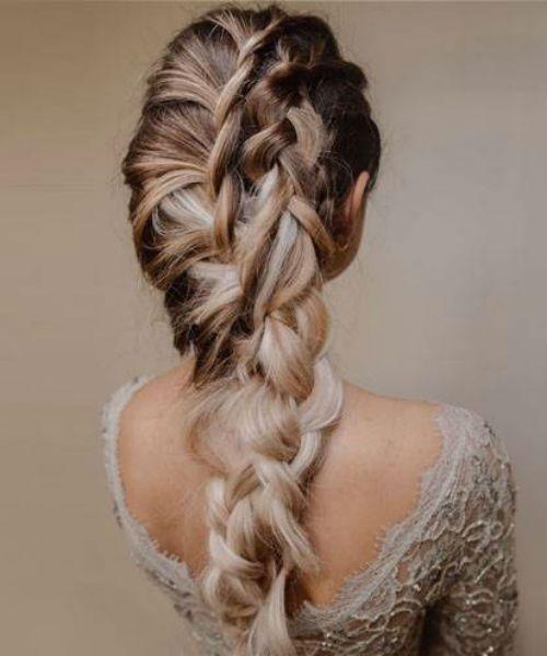 Braid Hairstyles Romantic Easy Braided Hairstyles Youtube Dutch Braid Hairstyles Braided Hairstyl In 2020 Rasiert Seite Frisuren Frisuren Langhaar Zopf Lange Haare