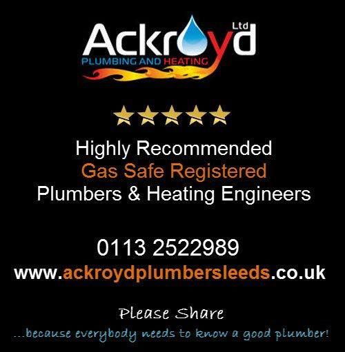 """""""At Ackroyd Plumbing & Heating we employ highly experienced Gas Safe Registered Heating engineers after an intensive selection process, to ensure you, the customer, gets the level of service that you deserve. We fully project manage all work with the ability to supply other local, experienced and proven tradesmen including Electricians, Builders, Plasterers, Carpenters and Tilers where necessary.""""  http://inmorley.co.uk/item/ackroyd-ltd/"""