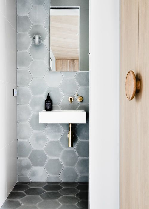 Epingle Par Natalie Rethlake Sur Dwelling Carrelage Hexagonal