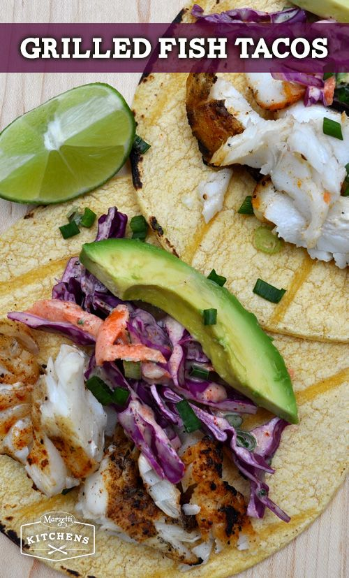 Dressing tacos and cabbages on pinterest for Grilled fish taco recipe with cabbage slaw