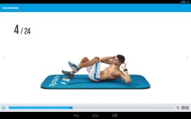 """Android App """"Runtastic Six Pack"""""""