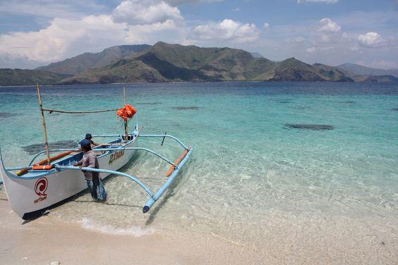 Beachs of the Philippines-Capones Island