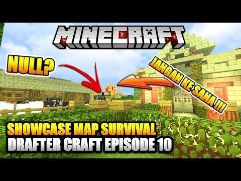 Mapnya Mistis Showcase Map Survival Drafter Episode 10