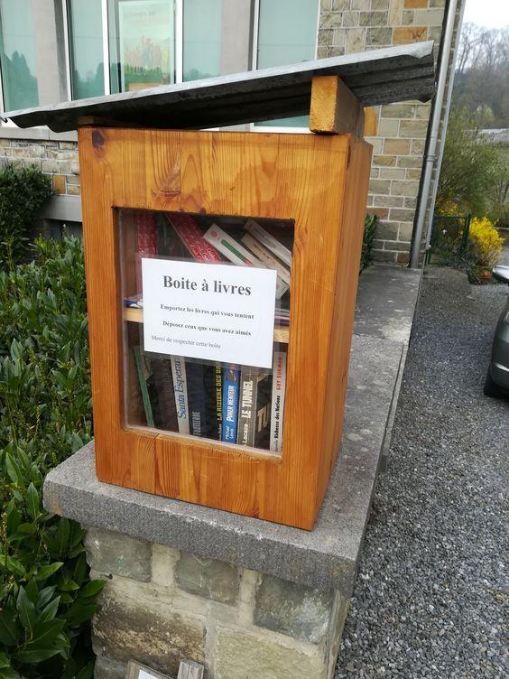 Boîte à livres Comblain-au-Pont