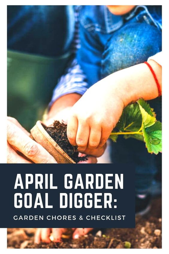 APRIL GARDEN GOAL DIGGER Hooray, April is here! From the chilly northern regions to balmy climates, plants are coming out of their winter dormancy and ready to get the party started. If you've been following our previous months' garden goals, you're more or less prepared to hit the ground running. But even if you haven't, there's still time to get caught up before the garden season is in full swing — using these goals as your reference. #aprilgarden #gardengoals
