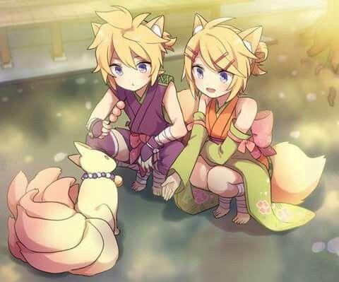 Kagamine twins