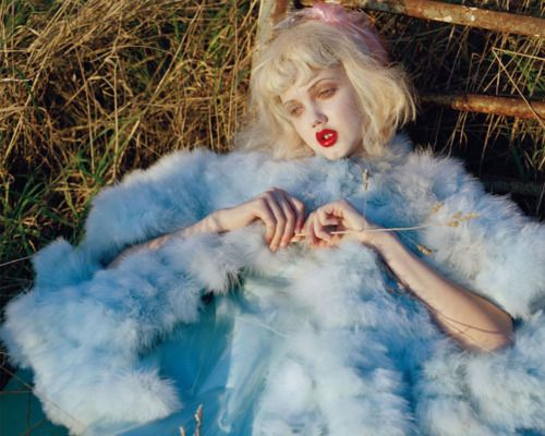 Lindsey Wixson photographed by Tim Walker for Vogue Italia, January 2012