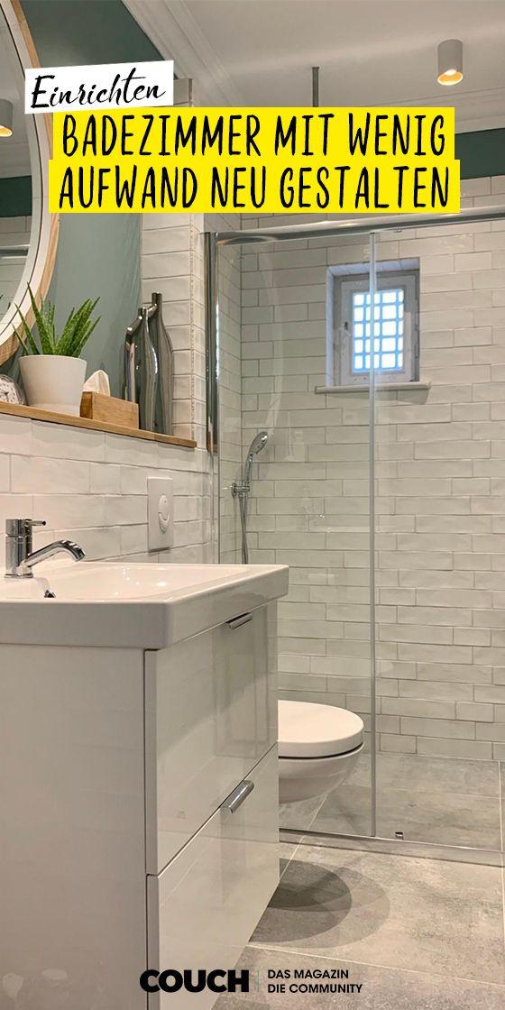 Badezimmer Einrichten Ideen Fur Jede Grosse In 2020 Badezimmer Baden Neues Badezimmer
