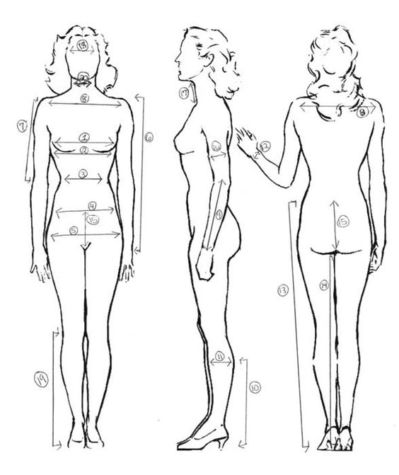 Thus, you can take 36″- 26″- 36″ as the ideal body measurement for women. The truth is hardly 5% percent of women have the aforementioned perfect body measurements. Most of the women only struggle to achieve perfection in their body size and shape through their entire life.