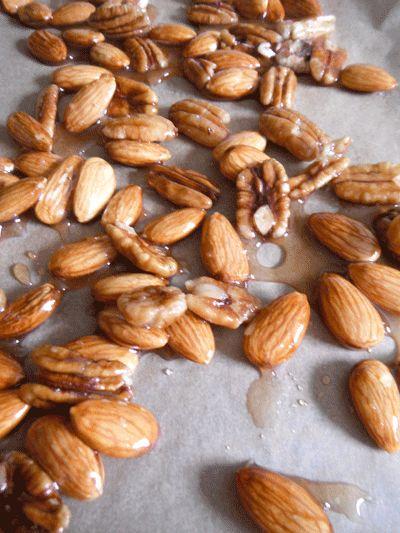 Maple Sugared Almonds and Pecans Recipe