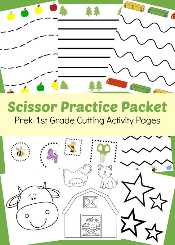 scissor practice packet prek 1st grade cutting activity pages scissor practice activities and. Black Bedroom Furniture Sets. Home Design Ideas