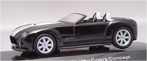 F/S AUTOart FORD SHELBY COBURA CONCEPT 2004 BLACK/SILVER 20542 1/64 Model Car #AUTOart #SHELBY