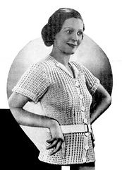 Spring Green Jumper pattern by The Australasian