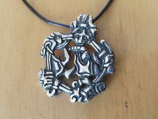 Anhänger Wikinger Gripping Beast Viking Haithabu in 935 Silber