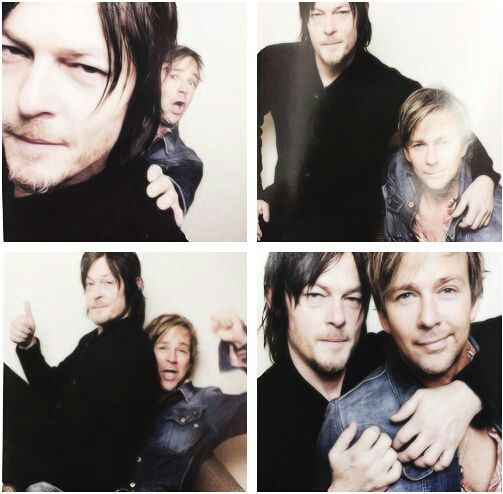 Norman Reedus and Sean Patrick Flanery. Love me some Flandus!