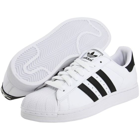 Adidas Originals Superstar 2 ($75) Liked On Polyvore Featuring Shoes Sneakers Adidas Flats ...
