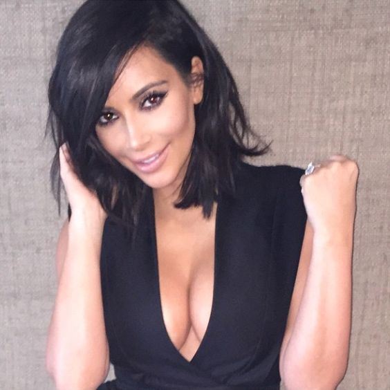 Kim Kardashian le 4 mars 2015