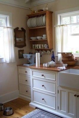 Cupboards Vintage And Plate Racks On Pinterest