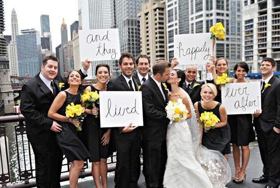 unique bridal party pictures   ... -unique-wedding-photography-cool-bridge-bridal-party-photos-Chicago-1