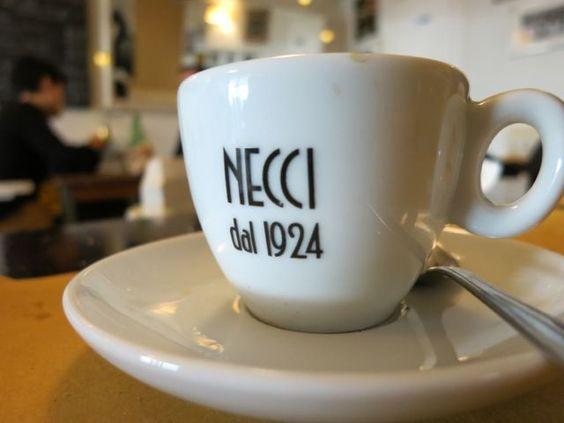 MENÙ │ CAFFÈ ■ Necci dal 1924, Roma