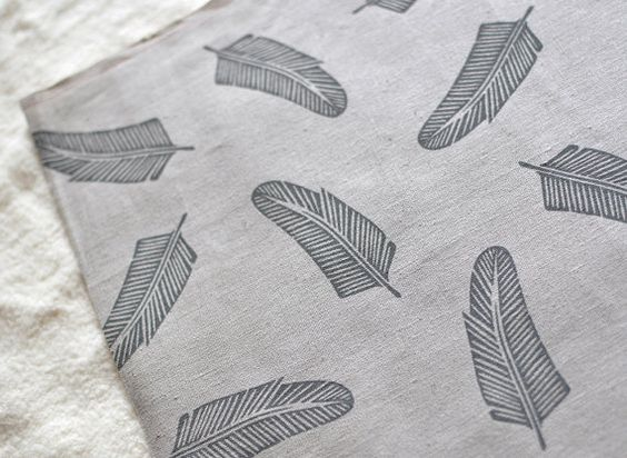 maze and vale handprinted quill