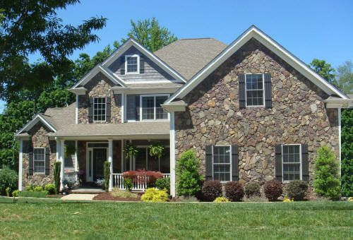 Blue Gray White Color Scheme Design Exterior