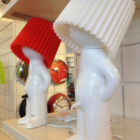 Dänische Lampe mit frechem Ein/Aus Schalter