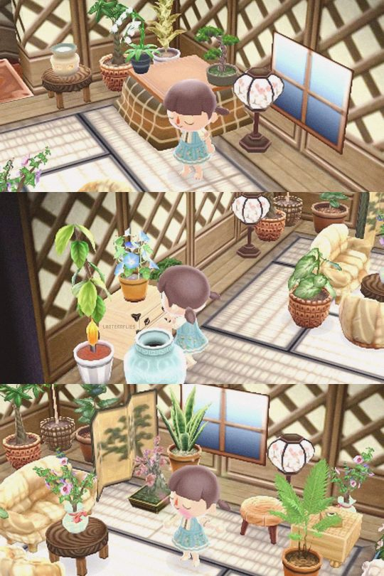 Upstairs Is Finally Finished! ACNL House Goals Pinterest