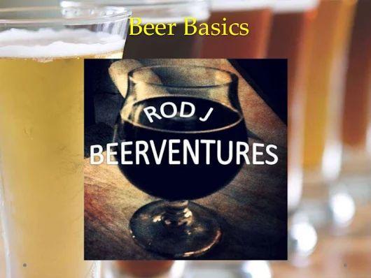 Beer basics presentation: