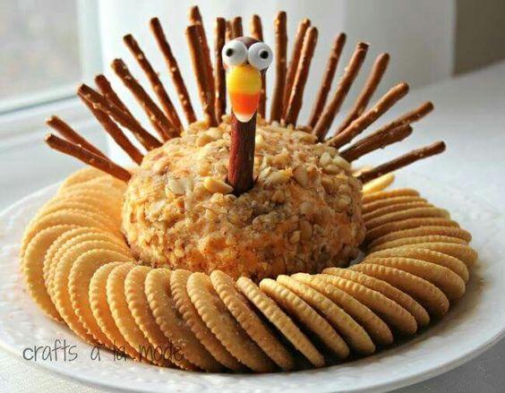 Cute idea for Thanksgiving.                              …