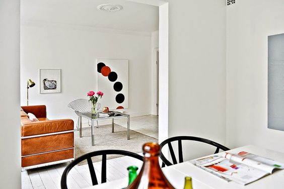 A Swedish home centred around one very cool sofa