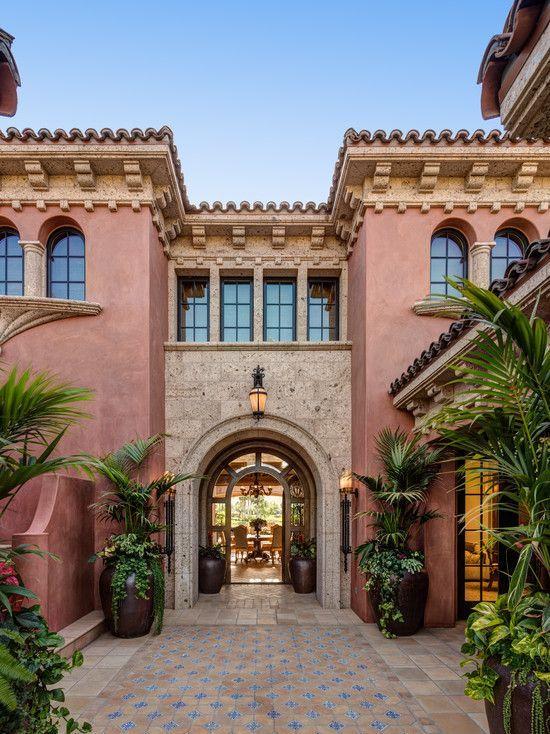 Stunning Spanish Architecture In This Villa Mediterranean Homes Spanish Style Homes Spanish Architecture