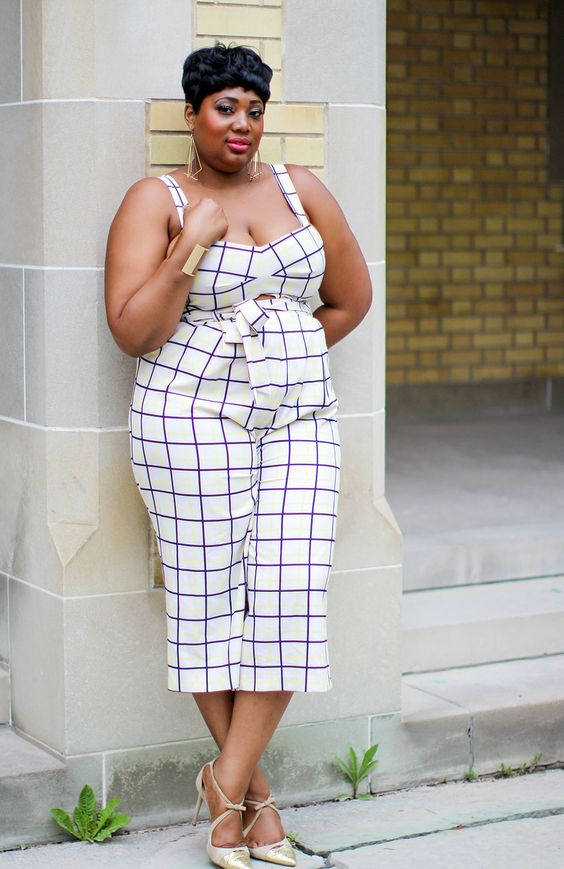 Fab Four Fashion: JUMPSUITS FOR EVERYONE #fabfourfashion #plussizejumpers