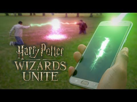 Harry Potter Wizards Unite Open The Portal Of The Wizarding World Harry Potter Games Harry Potter Potter
