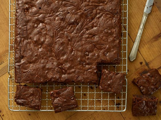 Peanut Swirl Brownies #BigGame