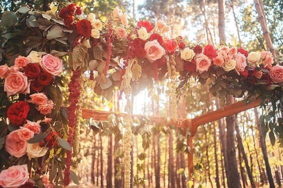 Beautiful wedding ar