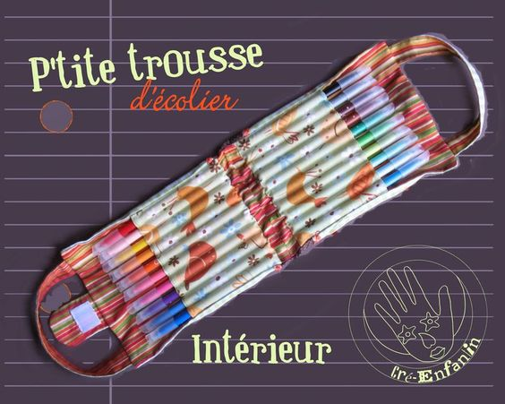 P'TITE TROUSSE A CRAYONS
