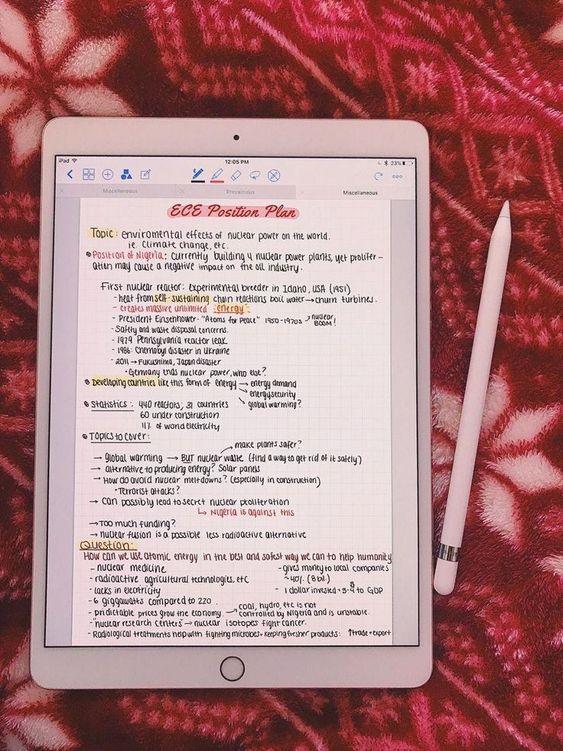 Clouded Study iPad Pro Notes w/ Goodnotes #iPadHacks - Ipad Pro - Trending Ipad Pro for sales. #ipadpro #ipad #apple - Clouded Study iPad Pro Notes w/ Goodnotes #iPadHacks