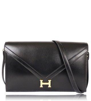 Hermes Box Calf Lydie 2way Clutch 1976 Shoulder Bag $4,500