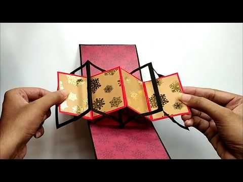 Accordian Twist Pop Up Card Tutorial Twist Pop Up Card Tutorial By Crafts Space Youtube Twist Pop Card Tutorial Pop Up Card Templates