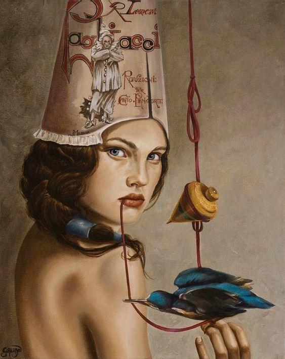 TOUCHING HEARTS: CLAUDIA GIRAUDO - Wonderful paintings