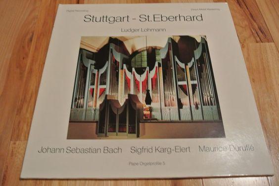 Stuttgart-St. Eberhard Ludger Lohmann Bach Direct Metal Mastering DMM LP Record