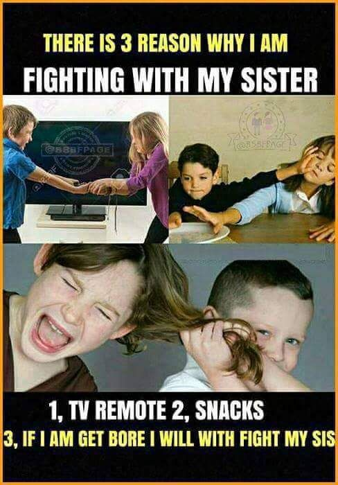 Visit The Post For More Sister Quotes Funny Siblings Funny Quotes Brother Sister Quotes Funny