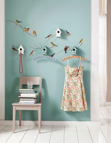 Wallsticker - Fugle