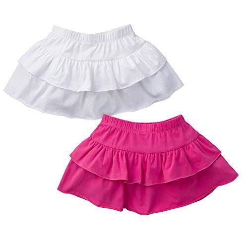 GAZIAR School Uniform Skirt for Girls Pleated Skort Kids Adjustable Waist Skater Skirt