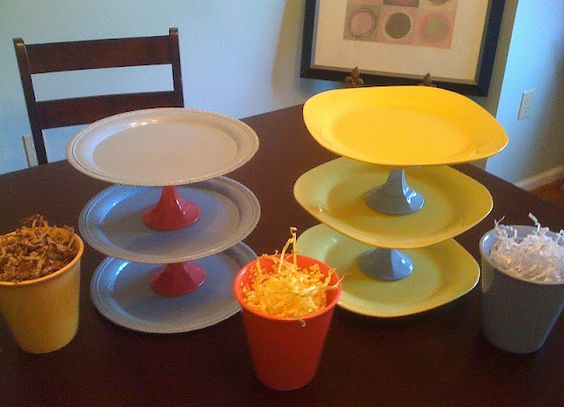 Diy Serving Tiered Trays