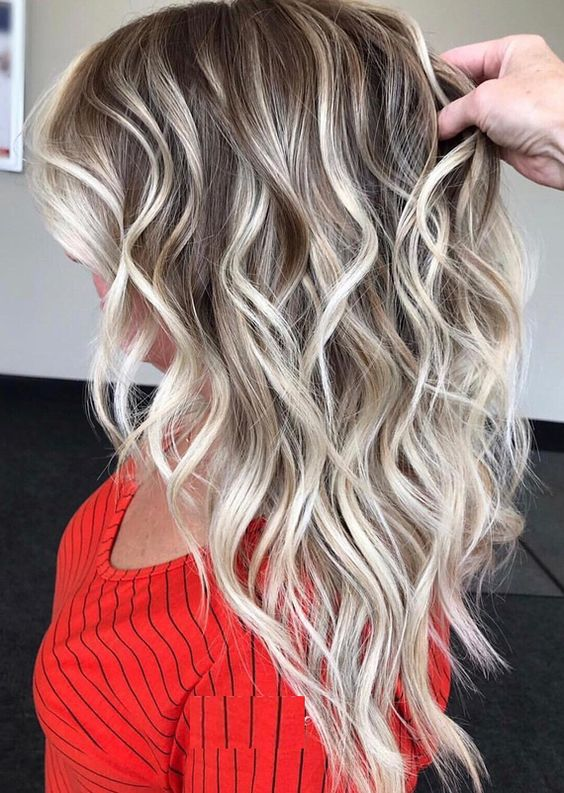 Browse this page to see our most amazing and famous ideas of blonde balayage hair colors and highlights to show off right now. You may easily wear these latest hair coloring techniques on various special occasions.
