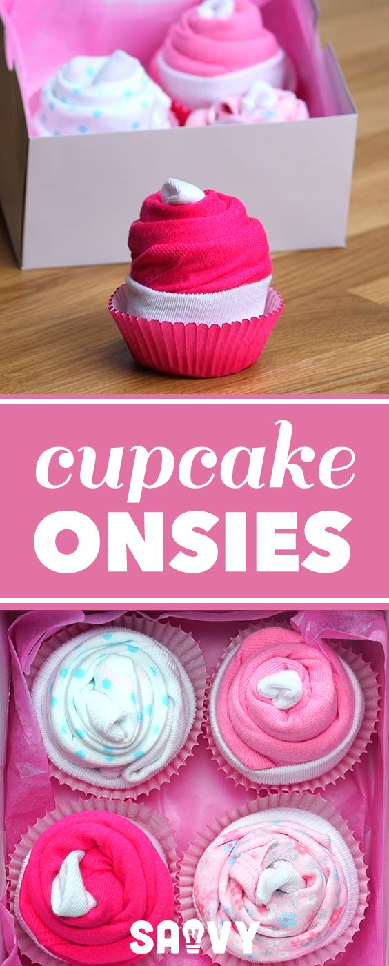 Cupcake Onsies | DIY Projects & Crafts | Pinterest | Cupcake, Baby ...