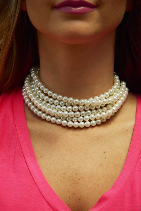 Talk About Love Necklace: Pearl